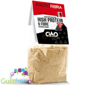 Protofibra - a high-protein, fiber and low carbohydrate tart