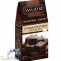 Sans Sucre No Sugar Added Brownie Chocolate Fudge Mix with Stevia