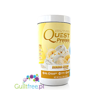 Quest Protein Powder, Banana Cream