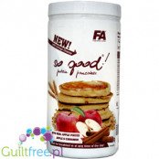 FA So good! ® Protein Pancakes with cottage cheese, cinnamon and real applie pieces
