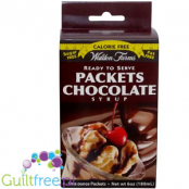 Walden Farms Chocolate flavored syrup sachet