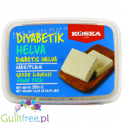 Koska Şeker Ilavesi light sade tahin helva - Vanilla flavor without sugar, with sweeteners