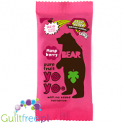 YoYo Bear pure fruit roll Raspberry