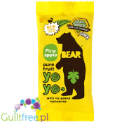 YoYo Bear pure fruit roll Pineapple