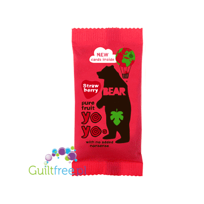 YoYo Bear pure fruit roll Strawberry