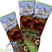 Options dietetic milk chocolate with a natural mint flavor