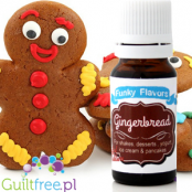 Funky Flavors Gingerbread for shakes, desserts, yogurt, ice cream & pancakes - Sugar-free, gingerbread flavor