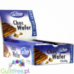 De Bron no sugar added choc waffer - Waffle without sugar added with cream filling, poured with milk chocolate, contains sweeten