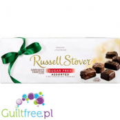 Russel Stover Sugar Free Assorted Fine Chocolate Candies - A mixture of sugar-free chocolate pralines with nuts, pastry or nouga