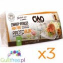 CiaoCarb Protobun LC low calories food preparation - low calorie, low carbohydrate, high protein bread