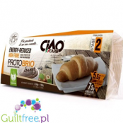 CiaoCarb Protobrio high fiber food preparatoion reduced in energy - Croissant low calorie, high fiber content