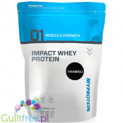 MyProtein Impact Whey Protein Tiramisu Flavor Whey Protein Concentrate Powder Food Supplement with Sweetener