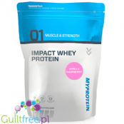 MyProtein Impact Whey Protein Vanilla Flavor Raspberry Whey Protein Concentrate Food Supplement Powder with Sweetener