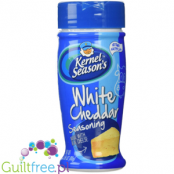 Kernel Season's White Cheddar Seasoning made with real cheese