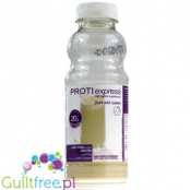 Proti Express Milk Shake Vanilla - an instant protein shake with vanilla flavor, contains sweeteners