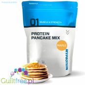 MyProtein Protein Pancake Mix, Maple Syrup Flavor - A mixture for preparing pancakes with a sweet taste of maple syrup