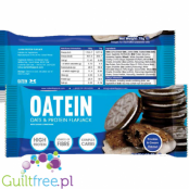 Oatein oats & protein flapjack with sugar and sweeteners Cookies and Cream Flavor