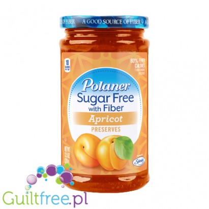 Polaner Sugar Free with Fiber Apricot Preserves