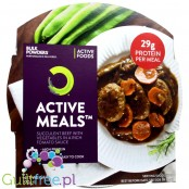 Bulk Powders Active Meals ™ Succulent beef with vegetables in a rich tomato sauce - a dish ready beef stewed with vegetables in