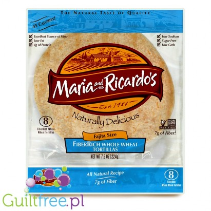 Maria and Ricardo's FiberRich Whole Wheat Tortillas