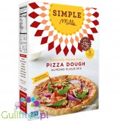 Simple Mills Naturally Gluten-Free Pizza Dough Almond Flour Mix - naturally gluten-free almond flour for baking pizza