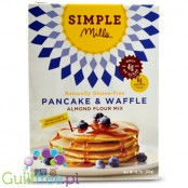 Simple Mills Naturally Gluten-Free Pancake & Waffle Flour Mix - naturally gluten-free almond flour for waffles and pancakes