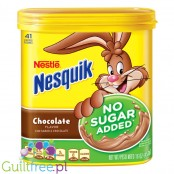 Nesquik ®, Nestle, Chocolate Flavor No Sugar Added