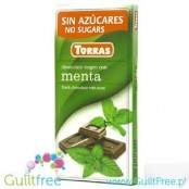 Torras sugar free dark chocolate with mint