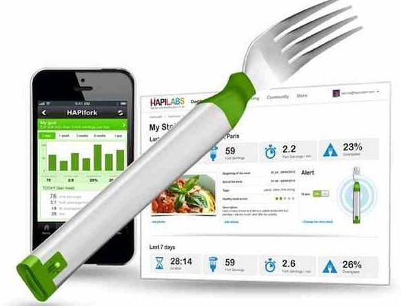 Hapifork – technologia w służbie zdrowego żywienia czyli widelec, który odchudza