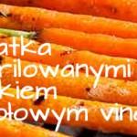 Grilowany stek z letnimi warzywami