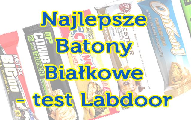 Labdoor test jakości najpopularniejszych batonów proteinowych