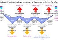 Wykres klasycznego cyklu węglowodanowego
