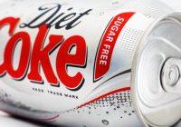 Puszka Diet Coke zero kalorii