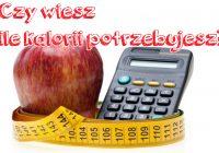 Wzór na obliczenie dziennego zapotrzebowania kalorii
