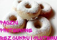 Bezglutenowe pączki bez cukru z mąki migdałowej, słodzone erytrolem