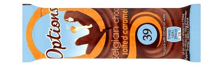 gorąca czekolada light solony karmek