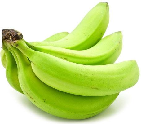 Niedojrzałe, zielone banany są świetnym źródłem opornej skrobi