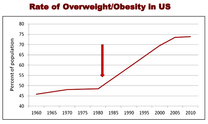 Wskaźnik otyłości w USA