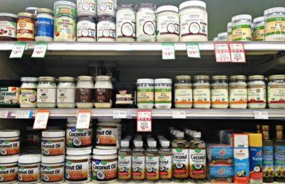 Wybór oleju kokosowego
