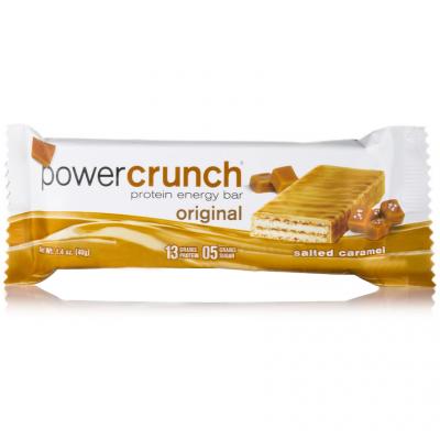 Batony z hydrolizatem białka Power Crunch