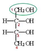 Struktura chemiczna erytytolu