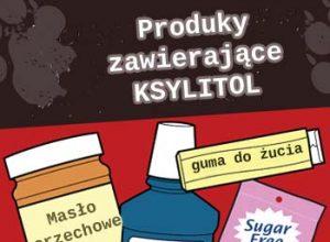 Produkty zawierające ksylitol są trujące dla psów i kotów!