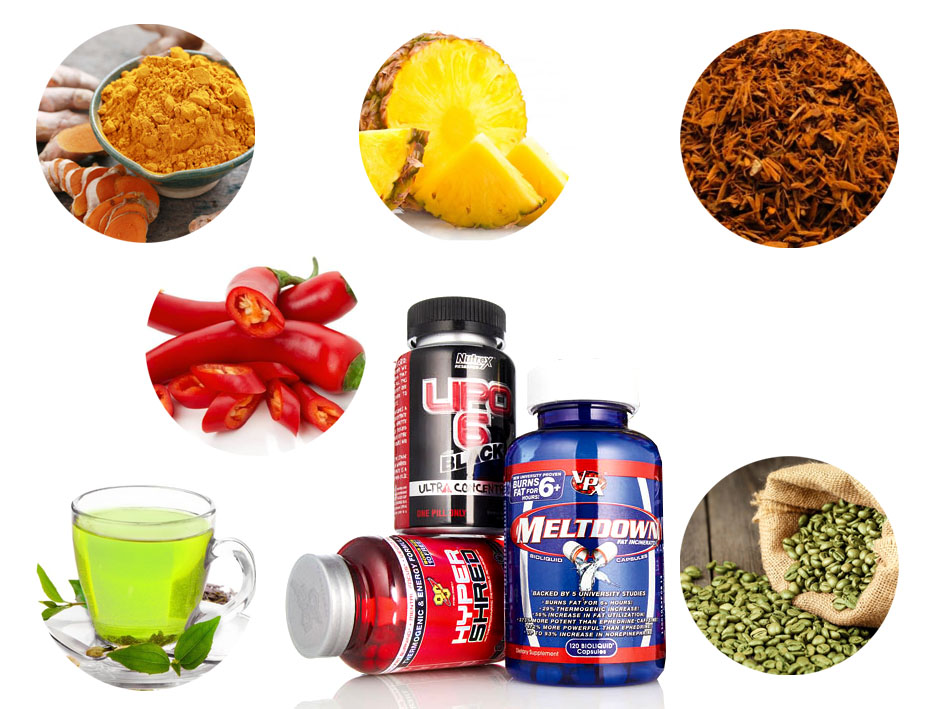 Naturalne substancje spalające tłuszcz
