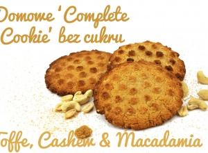 Ciastka białkowe z masła cashew i macadamia – bez cukru, bez glutenu
