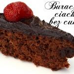 Czekoladowe ciasto buraczane bez cukru