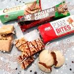 Świąteczne batony proteinowe: Quest, BSN, ON Nutrition – testuję edycje limitowane