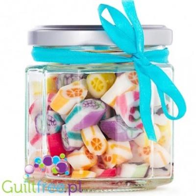 pomysł na prezent- cukierki bez cukru w słoiczku