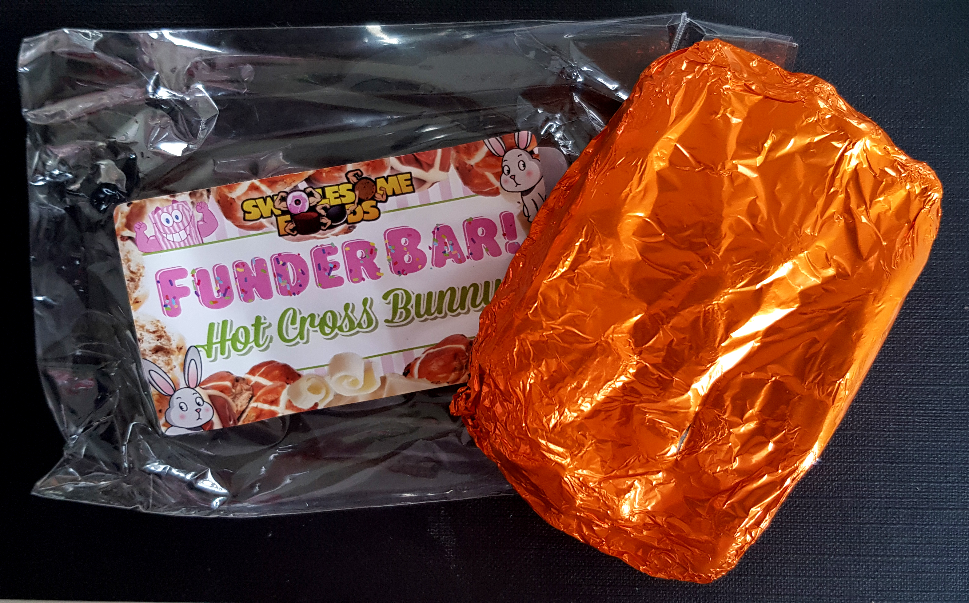 Swolesome Food Funder Bar Hot Cross Bunny Review