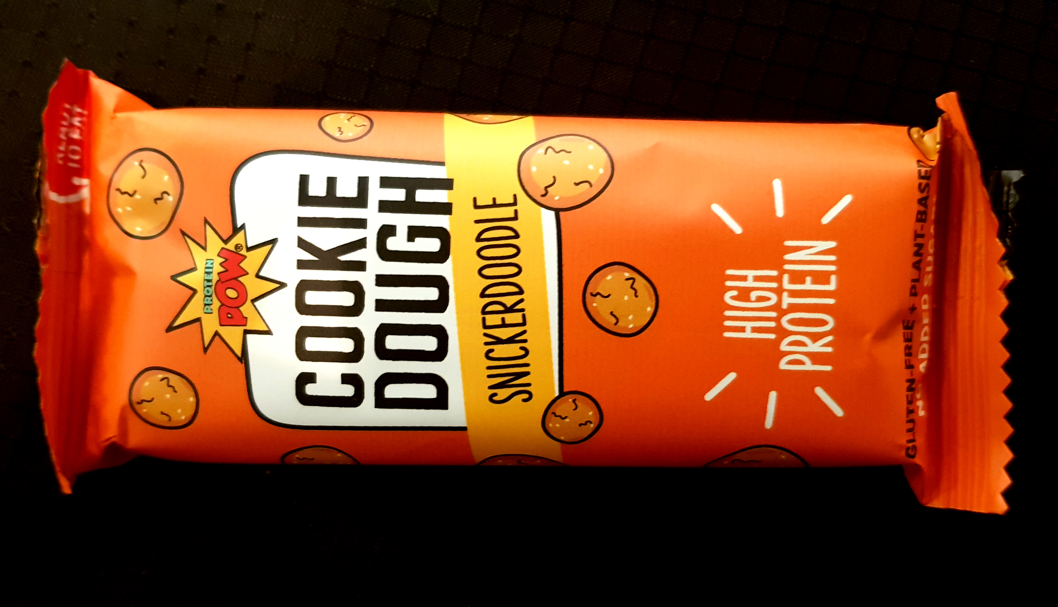 Protein Pow Cookie Dough Snickerdoodle review