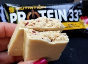 Fit Recenzje: Sante Go On Nutrition 33%, Vanilla & Raspberry – Malinowy tryptyk part I, czyli czy baton powszechnie dostępny może być dobry?